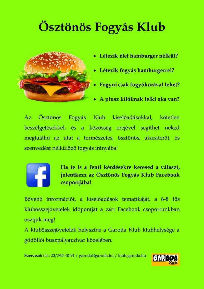 Ösztönös Fogyás Klub (plakát)